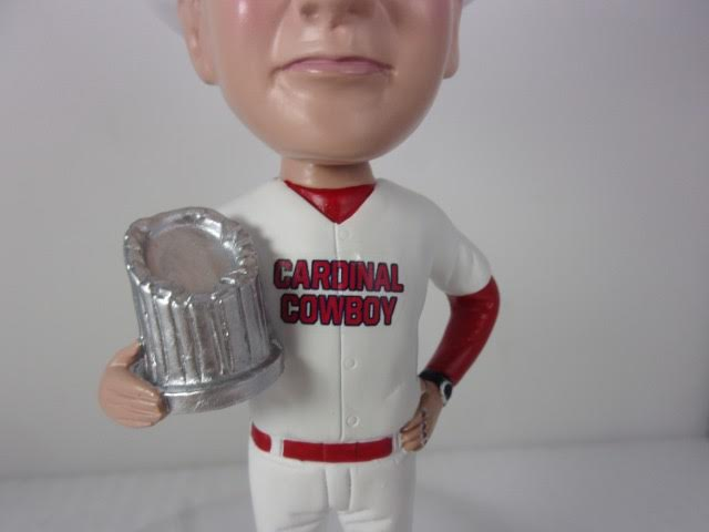 Cardinal Cowboy Bobble Head Trophy Rings New Socks Chest Zoon