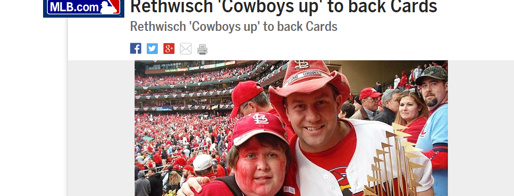 Rethwisch 'Cowboys up' to back Cards
