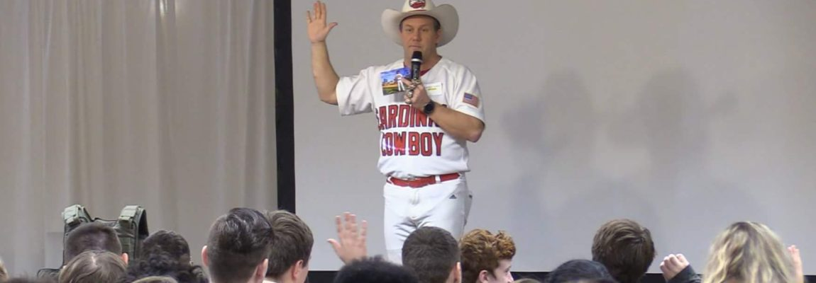Overcoming A Coma – Cardinal Cowboy Speech to Junior Achievement